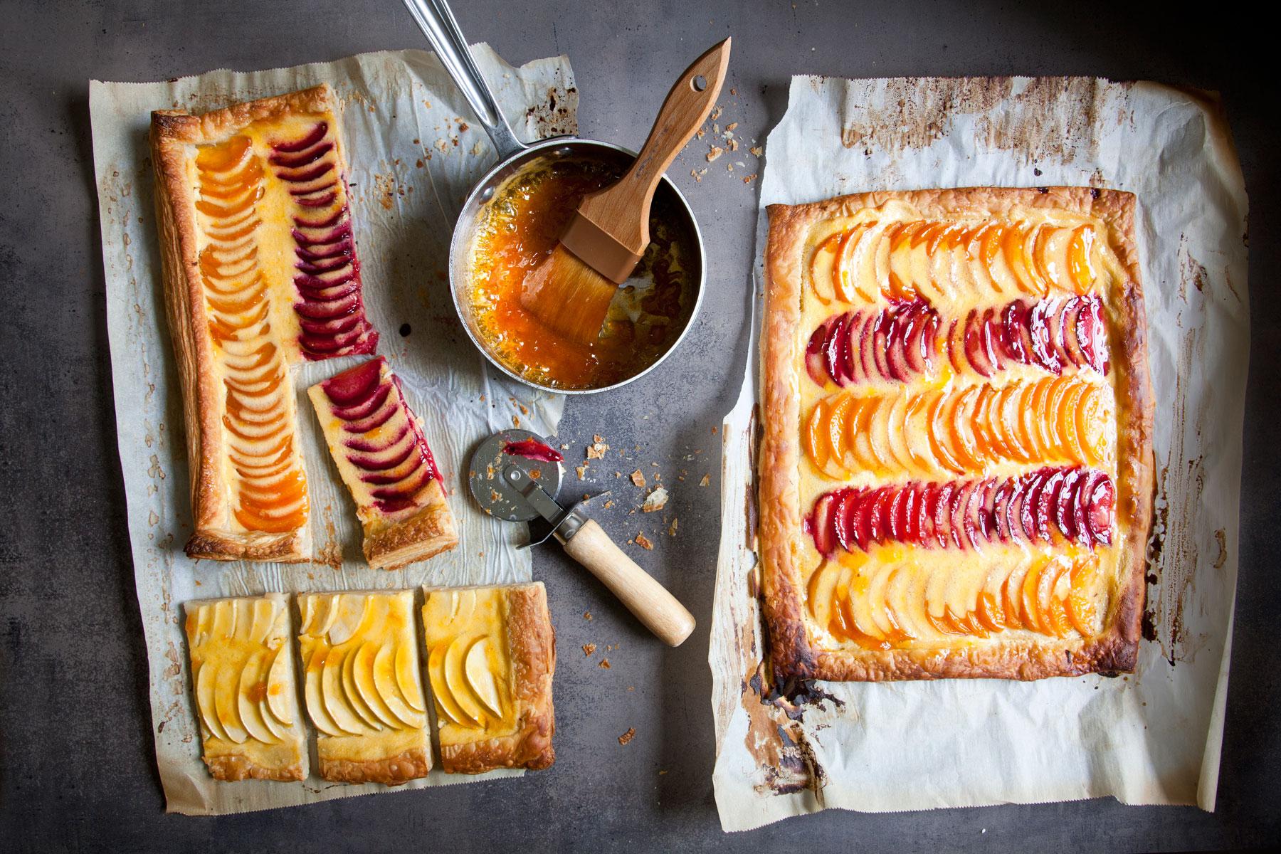 Renee Muller Our Table Fruit Tart Dessert